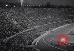 Image of crowded stadium Rome Italy, 1960, second 7 stock footage video 65675074350