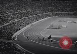Image of crowded stadium Rome Italy, 1960, second 10 stock footage video 65675074350