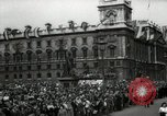 Image of Parliament Square London on Victory in Europe Day London England United Kingdom, 1945, second 8 stock footage video 65675074352