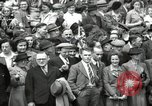 Image of Parliament Square London on Victory in Europe Day London England United Kingdom, 1945, second 12 stock footage video 65675074352