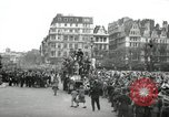 Image of English crowd celebrating V-E Day in Europe end of World War 2 London England United Kingdom, 1945, second 1 stock footage video 65675074354
