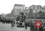 Image of English crowd celebrating V-E Day in Europe end of World War 2 London England United Kingdom, 1945, second 4 stock footage video 65675074354