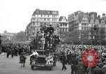 Image of English crowd celebrating V-E Day in Europe end of World War 2 London England United Kingdom, 1945, second 6 stock footage video 65675074354
