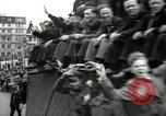 Image of English crowd celebrating V-E Day in Europe end of World War 2 London England United Kingdom, 1945, second 11 stock footage video 65675074354
