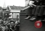 Image of English crowd celebrating V-E Day in Europe end of World War 2 London England United Kingdom, 1945, second 12 stock footage video 65675074354