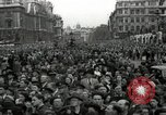 Image of Winston Churchill greets Parliament Square crowd V-E Day London England United Kingdom, 1945, second 2 stock footage video 65675074355