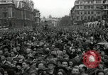 Image of Winston Churchill greets Parliament Square crowd V-E Day London England United Kingdom, 1945, second 3 stock footage video 65675074355