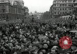 Image of Winston Churchill greets Parliament Square crowd V-E Day London England United Kingdom, 1945, second 4 stock footage video 65675074355