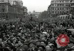 Image of Winston Churchill greets Parliament Square crowd V-E Day London England United Kingdom, 1945, second 5 stock footage video 65675074355