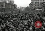 Image of Winston Churchill greets Parliament Square crowd V-E Day London England United Kingdom, 1945, second 6 stock footage video 65675074355