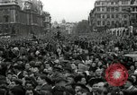 Image of Winston Churchill greets Parliament Square crowd V-E Day London England United Kingdom, 1945, second 7 stock footage video 65675074355