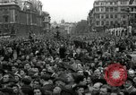 Image of Winston Churchill greets Parliament Square crowd V-E Day London England United Kingdom, 1945, second 8 stock footage video 65675074355