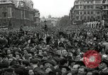 Image of Winston Churchill greets Parliament Square crowd V-E Day London England United Kingdom, 1945, second 9 stock footage video 65675074355