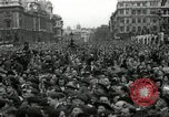 Image of Winston Churchill greets Parliament Square crowd V-E Day London England United Kingdom, 1945, second 11 stock footage video 65675074355