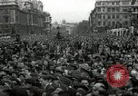 Image of Winston Churchill greets Parliament Square crowd V-E Day London England United Kingdom, 1945, second 12 stock footage video 65675074355