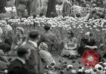 Image of English crowd London England United Kingdom, 1945, second 7 stock footage video 65675074357