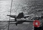 Image of F6F Hellcat fighter Pacific Ocean, 1944, second 3 stock footage video 65675074366