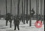 Image of Signal Corps linemen Georgia United States USA, 1951, second 7 stock footage video 65675074381