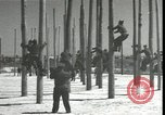 Image of Signal Corps linemen Georgia United States USA, 1951, second 8 stock footage video 65675074381