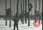 Image of Signal Corps linemen Georgia United States USA, 1951, second 9 stock footage video 65675074381
