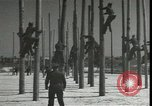Image of Signal Corps linemen Georgia United States USA, 1951, second 10 stock footage video 65675074381