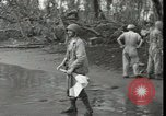 Image of wounded American soldiers New Britain Papua New Guinea, 1944, second 10 stock footage video 65675074393