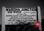 Image of Wardha Junction Railway Station Wardha India, 1943, second 2 stock footage video 65675074398