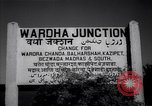 Image of Wardha Junction Railway Station Wardha India, 1943, second 6 stock footage video 65675074398