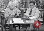 Image of Albert Einstein Princeton New Jersey USA, 1946, second 1 stock footage video 65675074403