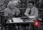 Image of Albert Einstein Princeton New Jersey USA, 1946, second 2 stock footage video 65675074403