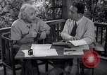 Image of Albert Einstein Princeton New Jersey USA, 1946, second 3 stock footage video 65675074403