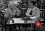 Image of Albert Einstein Princeton New Jersey USA, 1946, second 4 stock footage video 65675074403