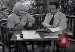 Image of Albert Einstein Princeton New Jersey USA, 1946, second 5 stock footage video 65675074403