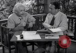 Image of Albert Einstein Princeton New Jersey USA, 1946, second 7 stock footage video 65675074403