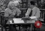 Image of Albert Einstein Princeton New Jersey USA, 1946, second 8 stock footage video 65675074403