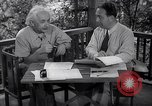 Image of Albert Einstein Princeton New Jersey USA, 1946, second 9 stock footage video 65675074403