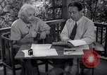 Image of Albert Einstein Princeton New Jersey USA, 1946, second 10 stock footage video 65675074403