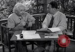 Image of Albert Einstein Princeton New Jersey USA, 1946, second 11 stock footage video 65675074403
