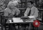 Image of Albert Einstein Princeton New Jersey USA, 1946, second 12 stock footage video 65675074403