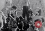 Image of Australian survivors Pacific Ocean, 1944, second 8 stock footage video 65675074406