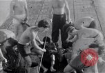 Image of Australian survivors Pacific Ocean, 1944, second 9 stock footage video 65675074406
