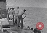Image of Australian survivors South China Sea, 1944, second 4 stock footage video 65675074410