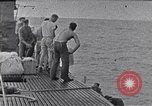 Image of Australian survivors South China Sea, 1944, second 5 stock footage video 65675074410