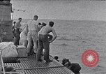 Image of Australian survivors South China Sea, 1944, second 6 stock footage video 65675074410