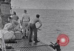 Image of Australian survivors South China Sea, 1944, second 9 stock footage video 65675074410