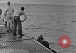 Image of Australian survivors South China Sea, 1944, second 10 stock footage video 65675074410