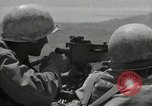 Image of US Marines firning Browning M1919 machine gun Okinawa Ryukyu Islands, 1945, second 4 stock footage video 65675074419