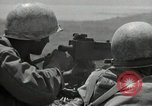 Image of US Marines firning Browning M1919 machine gun Okinawa Ryukyu Islands, 1945, second 7 stock footage video 65675074419