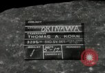 Image of United States soldiers Okinawa Ryukyu Islands, 1945, second 2 stock footage video 65675074426