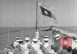 Image of German submarine Atlantic Ocean, 1942, second 5 stock footage video 65675074443